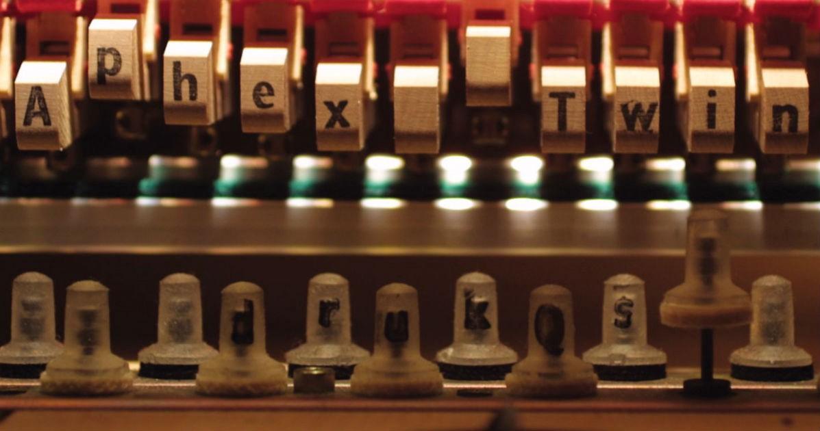 Aphex Twin album cover Drukqs, album of Avril 14th (or April 14th)