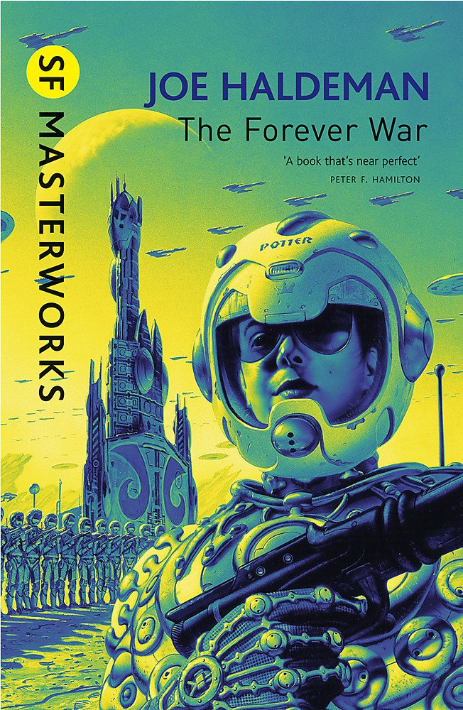 Picture of The Forever War book cover