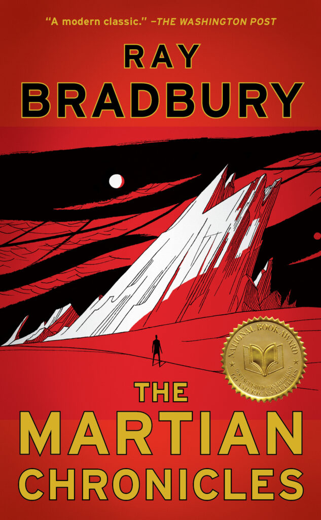 Picture of The Martian Chronicles book cover
