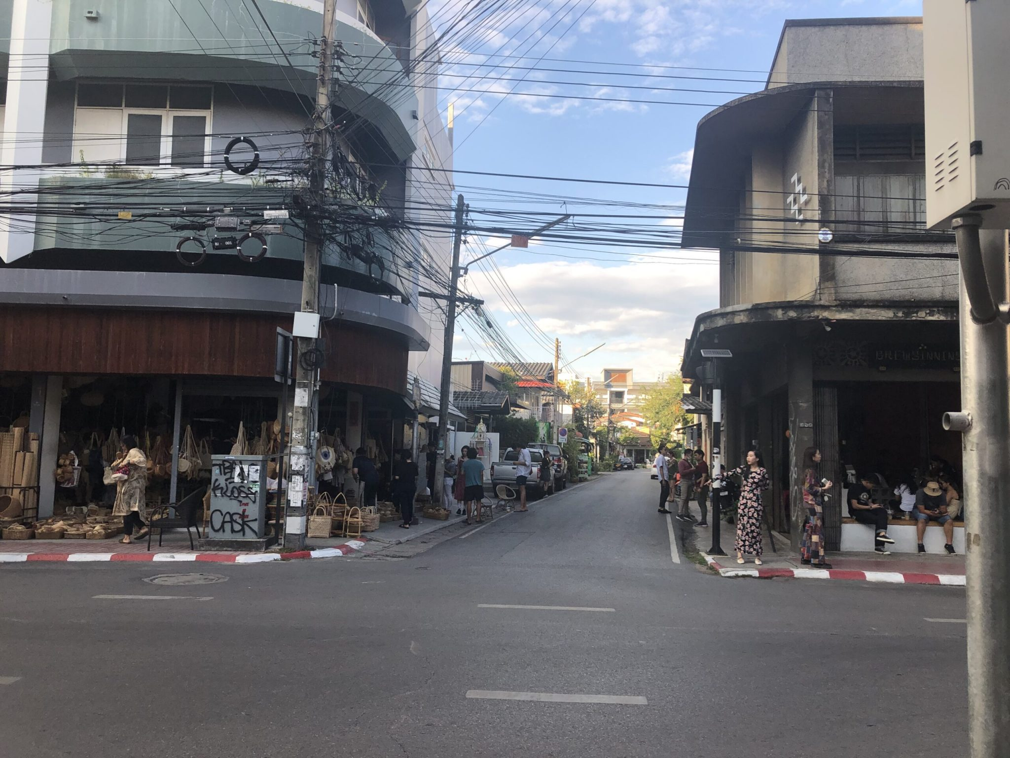 Daytime streets of Chiang Mai