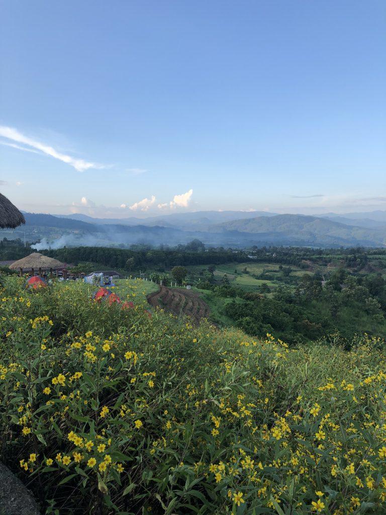 Yun Lai viewpoint—Pai District, Mae Hong Son, Thailand