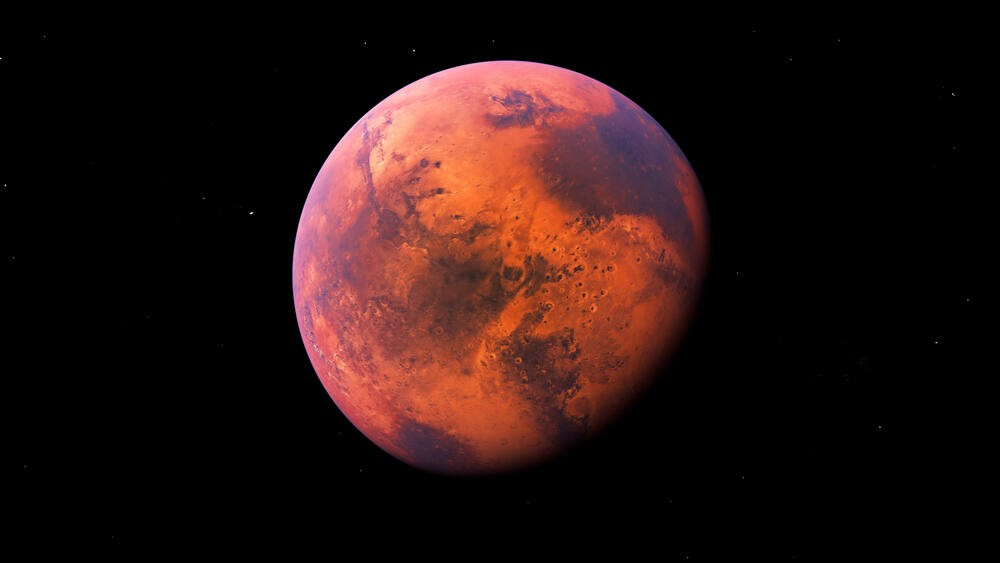 Mars Short story - white flame, red planet Ryley Jake